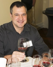 Winemaker Marcus Notaro of Washington's ColSolare winery helped evaluate the wines.